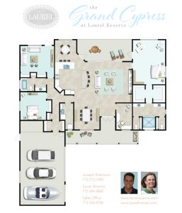 Grand Cypress Floor plan