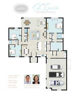St Lucia Piece Floor plan